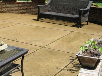 Concrete sealing increases the life of your concrete and helps it maintain its look